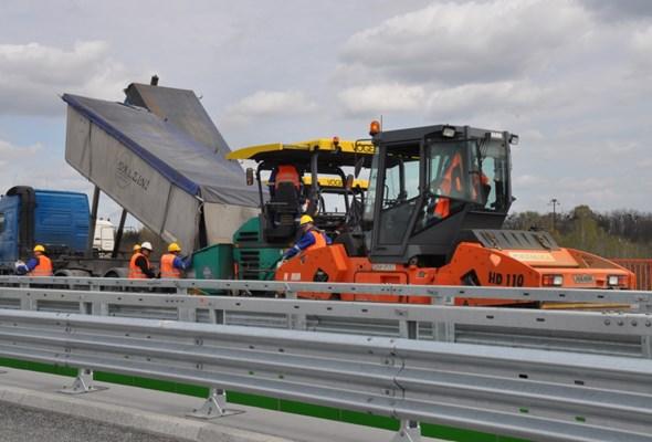 A1 Stryków – Tuszyn, czyli 40 km drogi w technologii betonowej [ZDJĘCIA]