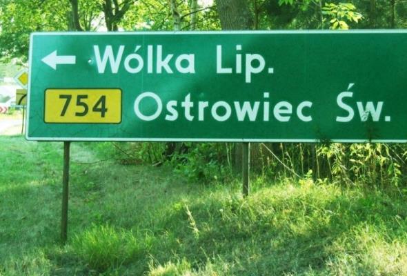 Z Ostrowca Świętokrzyskiego w kierunku Mazowsza – droga nr 754 w rozbudowie