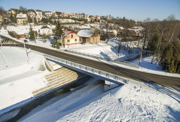 Pierwszy w Polsce most z kompozytów FRP otwarty