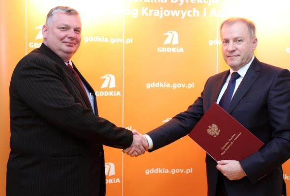 Nowy dyrektor oddziału GDDKiA w Bydgoszczy