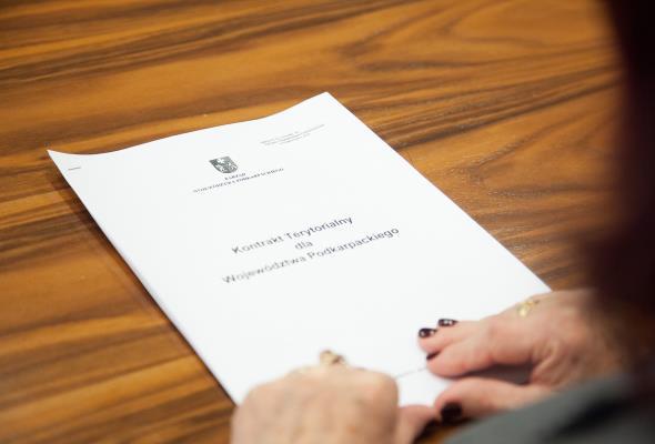 Podkarpackie: Kontrakt Terytorialny podpisany