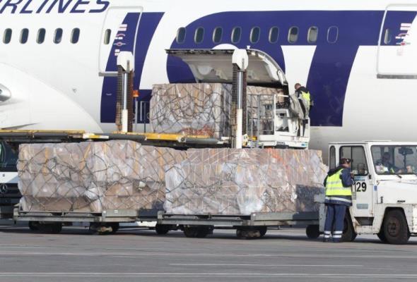 Lotnisko Chopina: Ruch cargo w stołecznym porcie rośnie