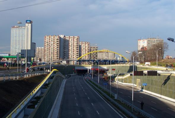 """DTŚ """"autostradą"""" górnośląskiej konurbacji"""