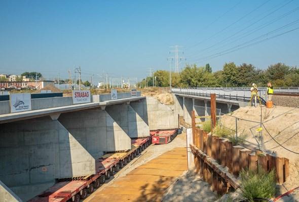 Warszawa: Kolejny tunel Trasy Świętokrzyskiej już na miejscu [GALERIA]