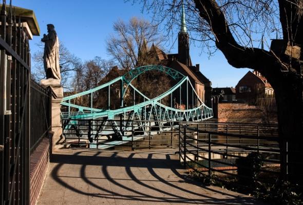 Wrocław: Most Tumski do remontu