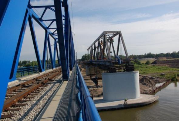 Inwestycje mostowe  PKP PLK z 2015 roku