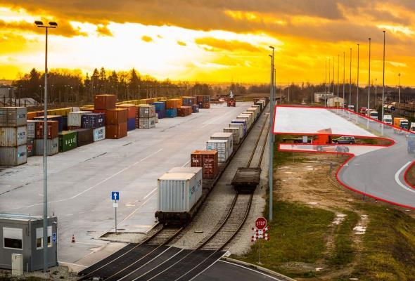 Rośnie terminal intermodalny PKP Cargo we Franowie