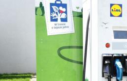 Lidl powiększa sieć stacji ładowania pojazdów elektrycznych