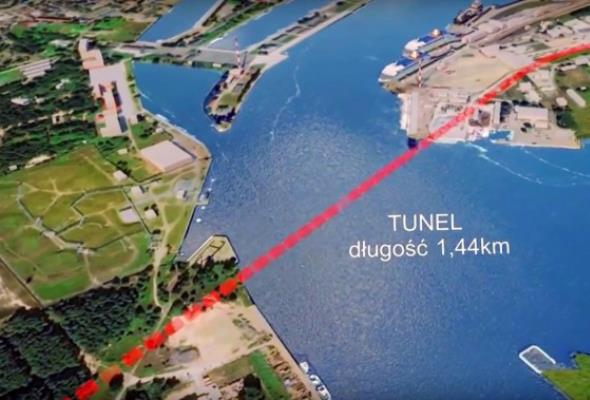 Jest przetarg. Tunel w Świnoujściu ma być gotowy w 2022 roku
