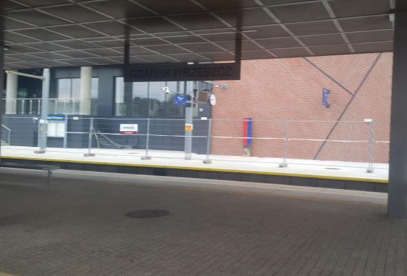 Gdańsk: W październiku otwarcie peronu na stacji we Wrzeszczu