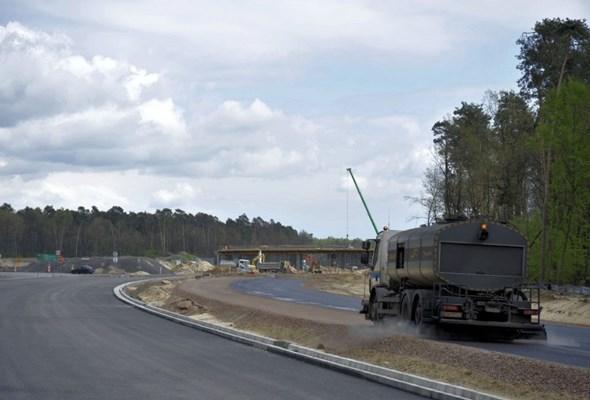 Postęp prac na S12 między mostem w Puławach a trasą S17