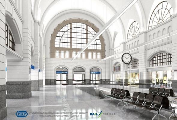 Remont dworca Gdańsk Główny opóźnia się