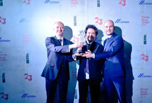 Prestiżowa nagroda CEMEX Building Award 2016 dla CKK Jordanki