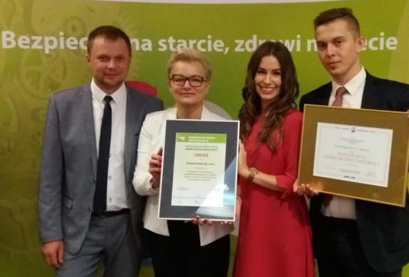CEMEX Polska ze Złotą Kartą Lidera Bezpiecznej Pracy