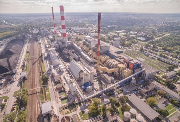 EC Siekierki: Kocioł K1 po wstępnych rozruchach