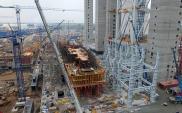 El. Opole: Rozpoczął się montaż rusztu zewnętrznego kotła nr 5