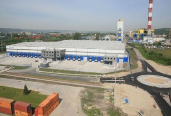 Kolejny etap budowy Centrum Logistycznego w Porcie Gdynia zakończony