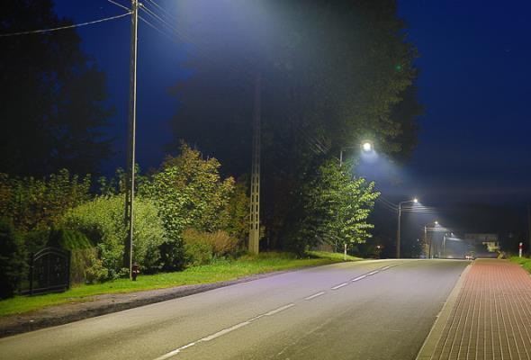 Koszalin: Energa modernizuje oświetlenie uliczne