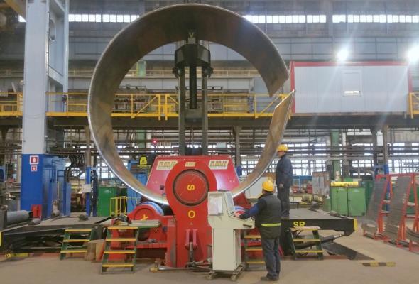 Stocznia Gdańsk rusza z produkcją wież wiatrowych