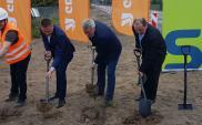Rozpoczęły się prace na budowie ronda w Rozogach
