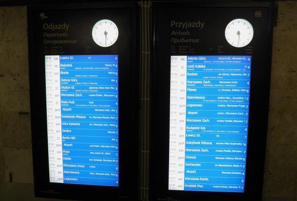 Jest przetarg na informację pasażerską. Projekt ograniczony, ale wciąż ogromny