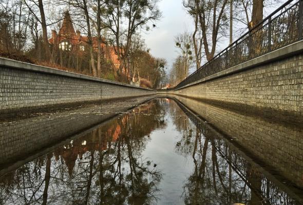 Średniowieczny Kanał Raduni jak nowy