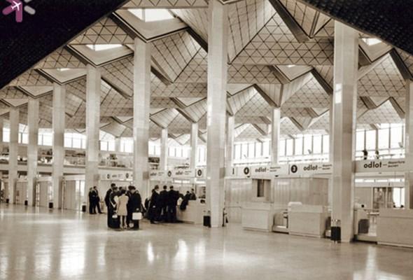 Lotnisko Chopina na archiwalnych zdjęciach