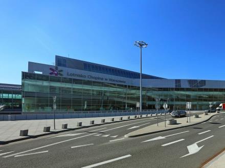 Lotnisko Chopina: Terminal dostępny dla pasażerów