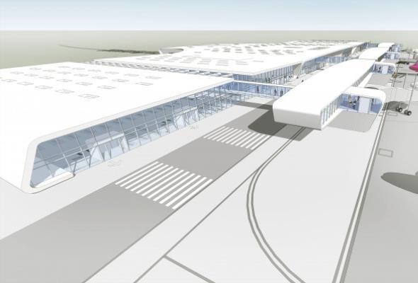 Lubelskie lotnisko po przebudowie - jak będzie wyglądać?