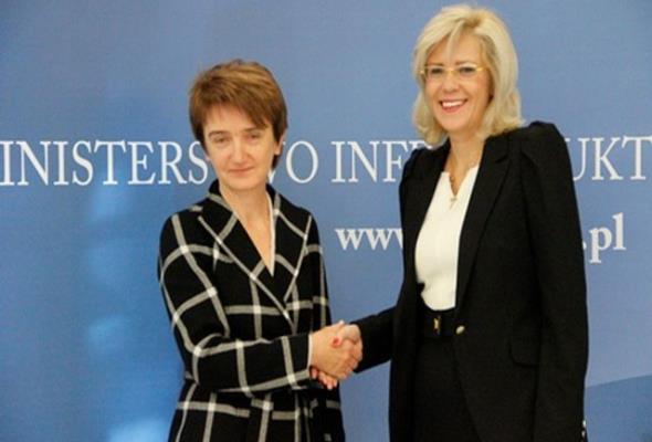 Maria Wasiak rozmawiała o środkach unijnych z nową komisarz