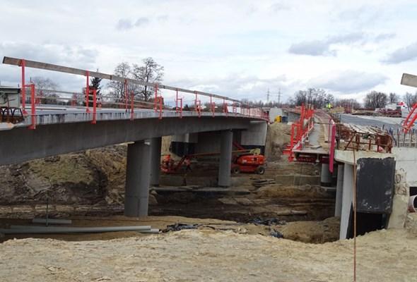 Kraków: Nowy most na S7 połączył brzegi Wisły