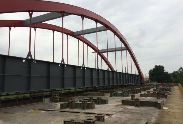 Metrostav wybudował most kolejowy o wartości ponad 93 mln koron