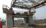 Most drogowy nad Baryczą – budowa w toku