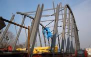 Skanska buduje podświetlany most