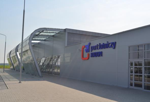 Radom: 100 mln zł na rozbudowę lotniska