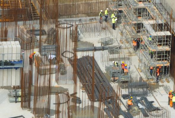 El. Opole: Zakończono betonowanie fundamentu maszynowni