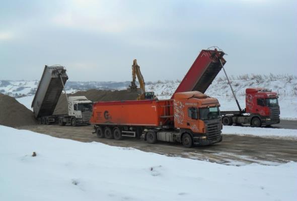 Obwodnica Rzeszowa w ciągu S19 buduje się mimo zimy