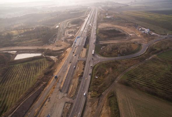 Dolny Śląsk: Od dziś jeździmy fragmentem nowej S5 w okolicy Trzebnicy