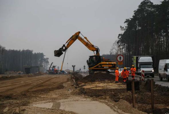 Kamień milowy na budowie S8 w kierunku Podlasia
