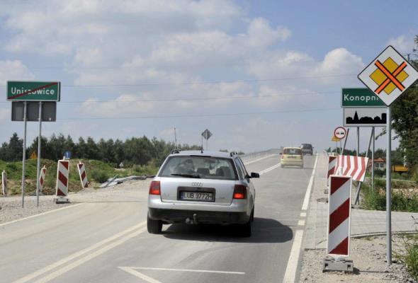 Zachodnia obwodnica Lublina: Wszystkie wiadukty drogowe dostępne