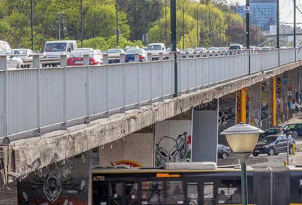 Warszawa: Projekt przebudowy wiaduktów Trasy Łazienkowskiej za 853 tys. zł