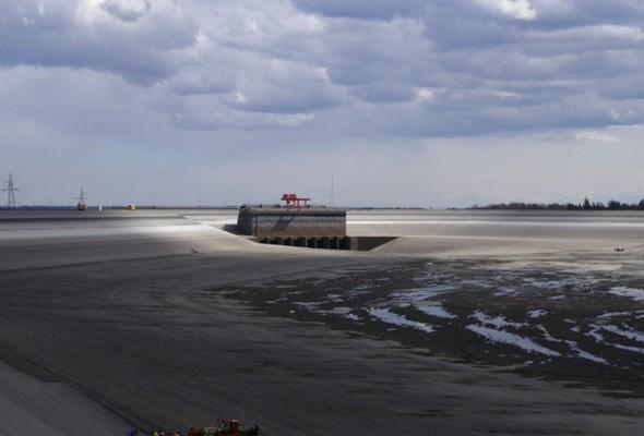 Puste Jezioro Żarnowieckie. Jak wygląda konserwacja zbiornika? (GALERIA)